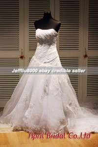 Sweetheart Vintage Lacework Beaded Bridal Gown/Wedding Dresses All