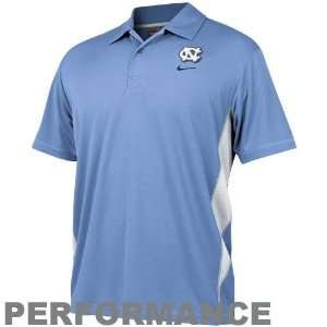 (UNC) Light Blue Dri FIT Mesh Polo