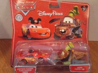 Disney Pixar Cars Disney Parks Exclusive McQueen Mater