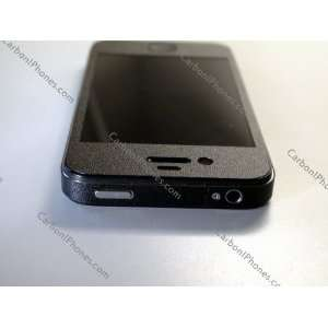 Iphone 4 Powder Coated Black Full Body Skin Kit