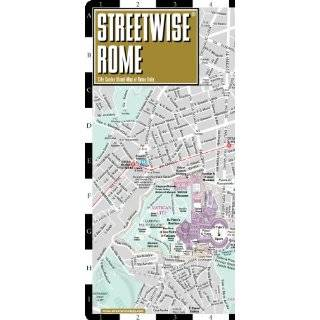 Streetwise Rome Map   Laminated City Center …