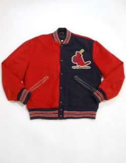 Vintage 70s WOOL Game Used ST. LOUIS CARDINALS Split Color BOB GIBSON