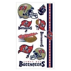 Bay Buccaneers NFL Football Team Temporary Tattoos