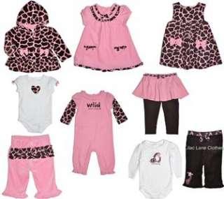 Gymboree Glamour Giraffe Pink Hoodie Pants Romper Dress Shirt UPIK NWT