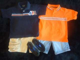 35 PIECE LOT BOYS SPRING SUMMER CLOTHES SIZE 5/6 5 6 OUTFITS SETS