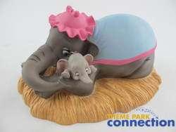 Disney WDCC Animators Choice MRS JUMBO & DUMBO Baby Mine Member HONOR