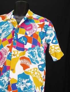 Vtg Mens MOREY BOOGIE Bodywear Shirt Sz L A2