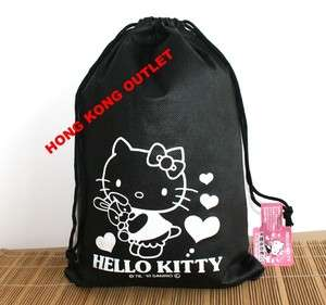 Sanrio Hello Kitty Big Size Draw String Bag E56c