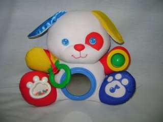 Vintage Fisher Price ACTIVITY CENTER PUPPY DOG baby toy