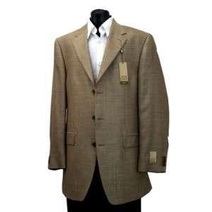 Joseph Abboud Mens Sport Jacket Blazer Lt. Tan NEW 40L