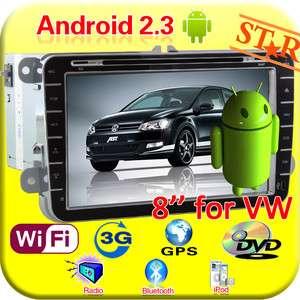 In Dash Car Audio GPS DVD Player For VW Golf Touran Jetta EOS