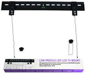 BIG SCREEN LED LCD ULTRA SLIM TV WALL MOUNT 4765 Low Profile