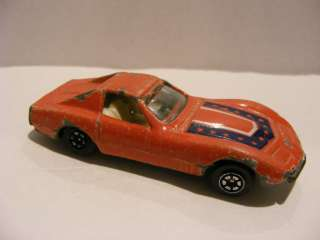 vtg car CHEVY RACER DUKES OF HAZARD General lee