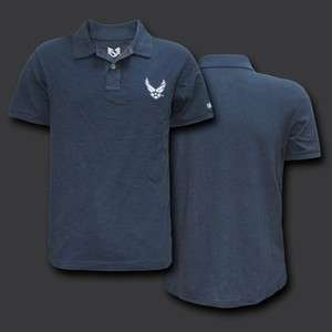 AIR FORCE WING LOGO POLO SHIRT RAPID DOMINANCE