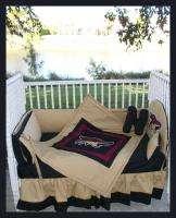 NEW baby crib bedding set made w/ PHOENIX COYOTES NHL