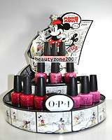 Opi Nail Polish Lacquer Mimmie Mouse collection 0.5oz