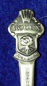 VINTAGE ROLEX BUCHERER LUCERNE SWITZERLAN MINI DEMITASSE SPOON