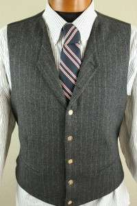 Excellent *Zanetti* 3 Piece Super 100s Merino Wool Suit, Size 42. 4