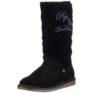 Pepe Jeans London BONNIE Damen Stiefel BNN 130 B, Veloursleder EU 40