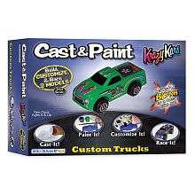 Cast & Paint Krazy Kar Trucks with Blo Pens   Skullduggery 1001318