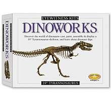 Cast & Paint   19 Tyrannosaurus Rex Casting Kit   Skullduggery