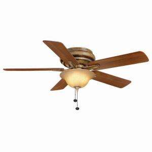 Hampton Bay Bay Island 52 in. Desert Patina Ceiling Fan 14198 at The