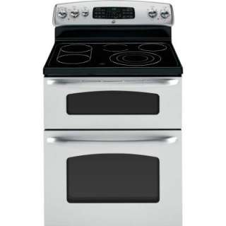 GE 30 in. Self Cleaning Freestanding Electric Double Oven Convection