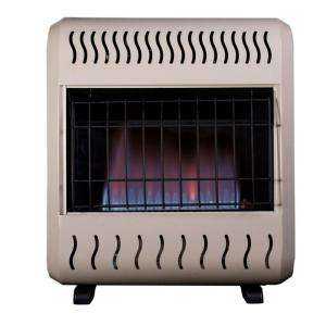 ReddyHeater Blue Flame 10,000 BTU Dual Fuel Heater BWH10NLM at The