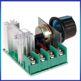 2000W SCR Electronic Voltage Regulator Dimming Dimmers Speed Control