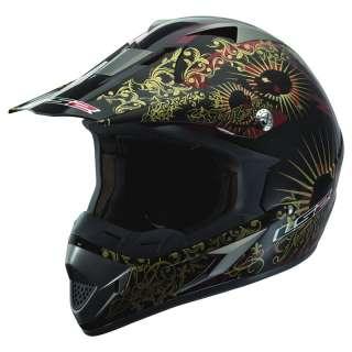 SHOCKER MX OFF ROAD ENDURO EDIRT QUAD BIKE MOTOCROSS CRASH HELMET