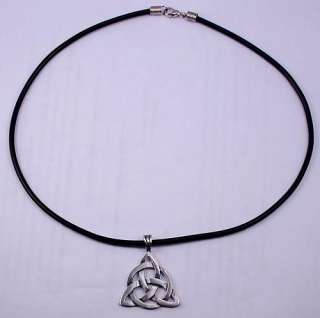 TRIQUETRA TRINITY CELTIC KNOT Norse/Viking Silver Pewter Pendant/Charm