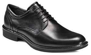 ECCO BIARRITZ TIE BLACK 630004 BLACK LEATHER DRESS/FORMAL SHOE
