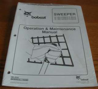 BOBCAT SWEEPER Operation Maint. MANUAL #6724016 (Y71)