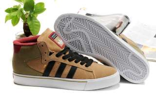 Adidas Originals Campus Vulc Mid Shoes Brown Suede Mens