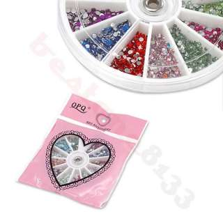 1200 Pcs Multi color Rhinestones Gems Nail Art Sticker