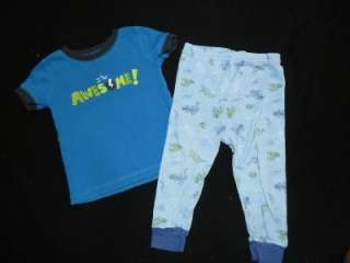 20pc BABY TODDLER BOY 6 12 Months 100% cotton SLEEPWEAR PAJAMA set