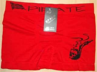 Mens MICROFIBER BOXER BRIEFS Underwears Spach 3920 PIRATE