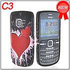 HEARTEX SOFT SILICONE GEL TPU CASE COVER + SCREEN PROTECTOR FOR NOKIA