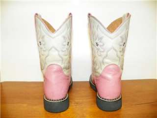 ARIAT GIRLS COWBOY BOOTS SIZE 1 YOUTH