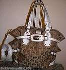 Michael Kors Cross Body White Handbag Tote Shoulderbag Hobo Satchel