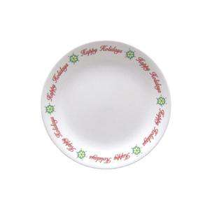 pc CORELLE HAPPY HOLIDAY FUN CHRISTMAS LUNCH SET *NEW