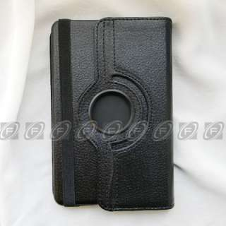 Fire Rotating Leather Case/Car Charger/USB Cable/Protector/Stylus