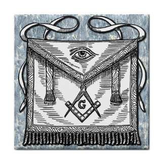 Masonic Apron Freemason Custom Microfiber Towel 14x14