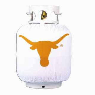 Texas Longhorns Barbeque Grill Propane Tank Cover Wrap