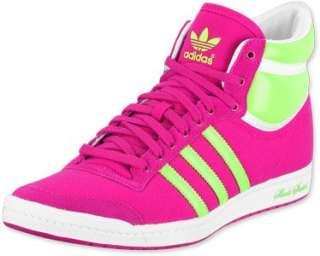 TOP TEN HI SLEEK Sneaker in Pink Neongrün  Schuhe