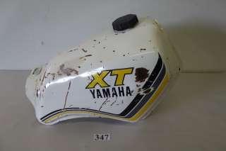 Yamaha XT250 XT 250 Fuel Tank Gas Tank 83 1983