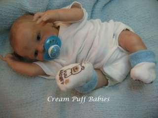 REBORN PREEMIE BABY BOY DOLL JEWEL BY DENISE PRATT