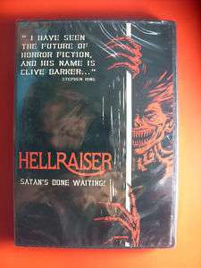 HELLRAISER Satans Done Waiting Clive Barker DVD NEW
