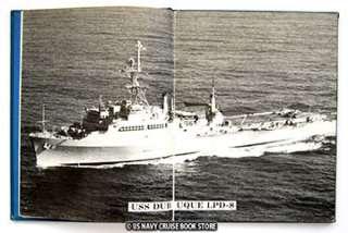 USS DUBUQUE LPD 8 WESTPAC CRUISE BOOK 1984