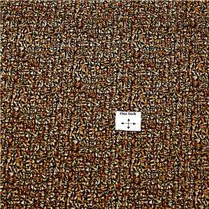 Fabric Freedom Cotton Gorgeous Brown & Black Intricate Scrolled Floral